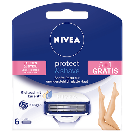 NIVEA Protect & Shave Wechselklingen