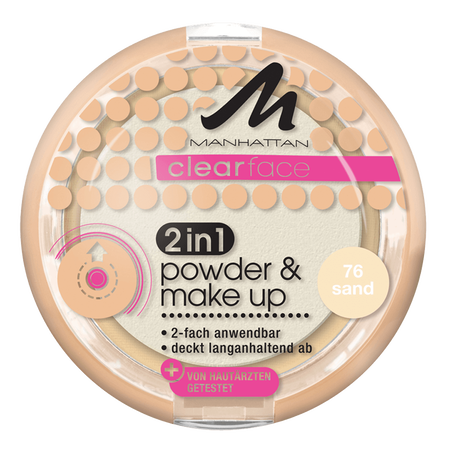 MANHATTAN Clearface 2in1 Powder & Make Up