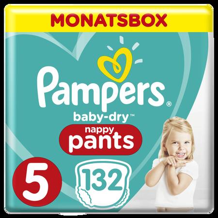 Pampers Baby Dry Pants Gr.5 Junior 12-17kg MonatsBox