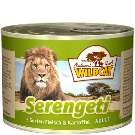 Wildcat Serengeti Adult 5 Sorten Fleisch