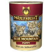 Bild: Wolfsblut Blue Mountain Puppy/Wildfleisch