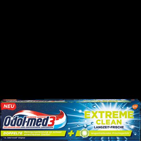 Odol-med3 Zahncreme Extreme clean Langzeit - Frische