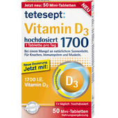 Bild: tetesept: Vitamin D3 Mini-Tabletten