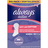 Bild: always dailies twist & flex Slipeinlagen Soft like Cotton Normal BigPack/Vorteilspack