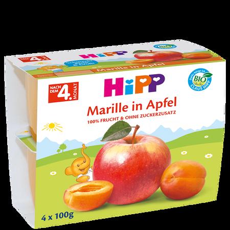 HiPP Marille in Apfel