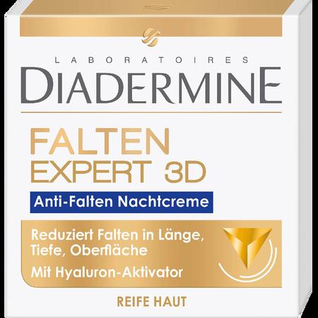 DIADERMINE Falten Expert 3D Anti-Falten Nachtcreme