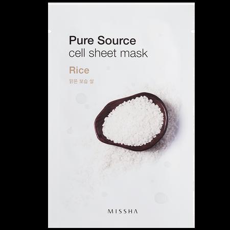 MISSHA Pure Sourse Cell Rice Tuchmaske