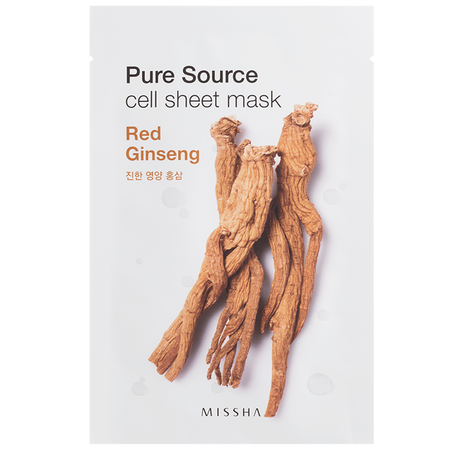 MISSHA Pure Source Cell Red Ginseng Tuchmaske