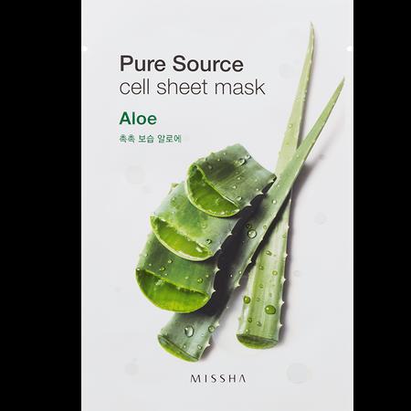 MISSHA Pure Source Cell Aloe Tuchmaske