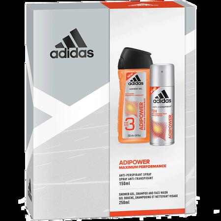 adidas Adipower Maximum Performance Geschenkset