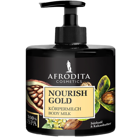 AFRODITA Cosmetics Nourish Gold Körpermilch