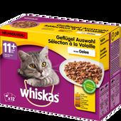 Bild: Whiskas 11+ Geflügel Auswahl in Sauce