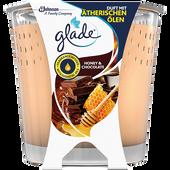 Bild: Glade Duftkerze mit ätherischen Ölen Honey & Chocolate