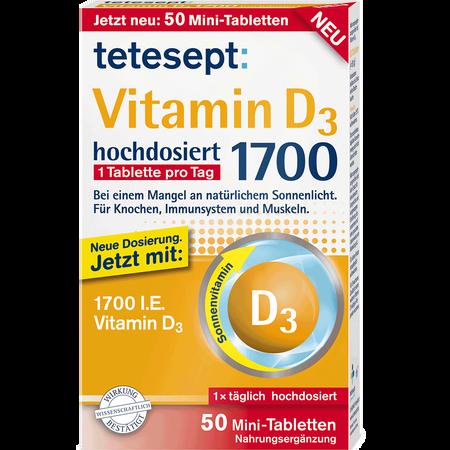 tetesept: Vitamin D3 Mini-Tabletten