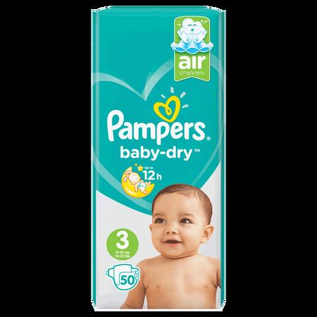 Pampers Baby-Dry Gr. 3 (6-10kg) Value Pack