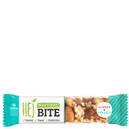 HEJ Natural Bite Almond & Sea Salt