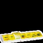 Bild: FRÜHWALD Medikamentenbox ganze Woche Gelb gelb