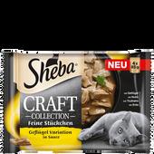 Bild: Sheba Craft Collection Geflügel Variation in Sauce