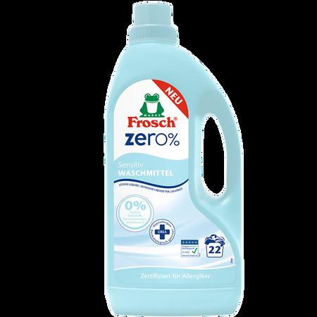 Frosch Zero% Waschmittel Sensitiv