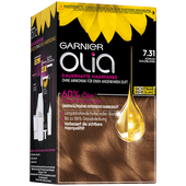 Bild: GARNIER Olia Coloration kühles goldblond