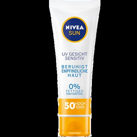 NIVEA Sun UV Gesicht Sensitive LSF 50 Sonnencreme
