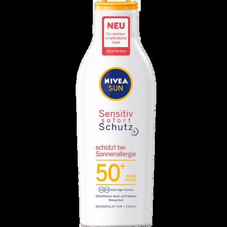 NIVEA Sun Sensitiv Sofort Schutz Lotion LSF 50+