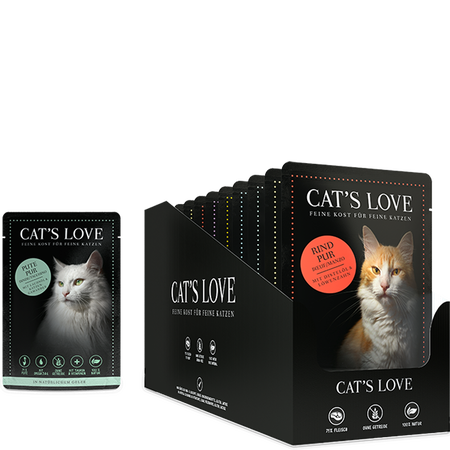 CAT´S LOVE Multipack Katzenfutter