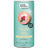 Bild: SHAPE REPUBLIC ancake Party Protein Backmischung Vanille & Himbeere