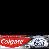 Bild: Colgate Sensation White Aktivkohle Zahnpasta
