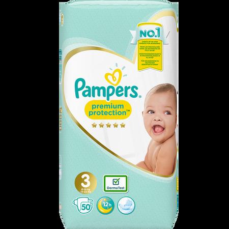 Pampers Premium Protection Gr. 3 (6-10kg) Value Pack