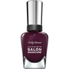 Bild: Sally Hansen Complete Salon Manicure Nagellack pat on the black