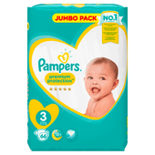 Bild: Pampers Premium Protection Gr. 3 (6-10 kg) Jumbo Pack