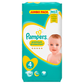 Bild: Pampers Premium Protection Gr. 4 (9-14kg) Jumbo Pack