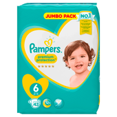 Bild: Pampers Premium Protection Gr. 6 (13+kg) Jumbo Pack
