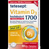 Bild: tetesept: Vitamin D3 Mini-Tabletten