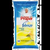 Bild: Meister Proper feuchte Reinigungstücher Mediterrane Zitrone