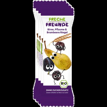 Freche Freunde Getreideriegel Birne, Pflaume & Brombeere