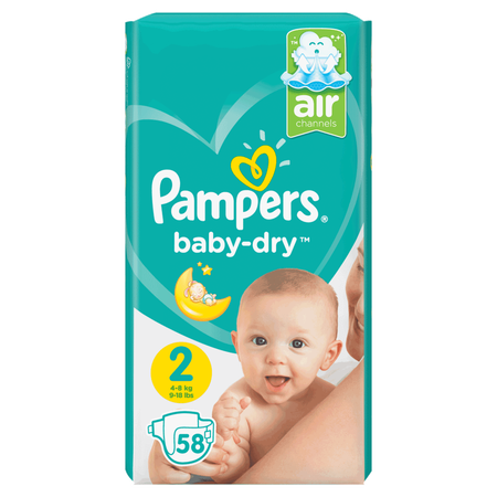 Pampers Baby-Dry Gr. 2 (4-8kg) Value Pack