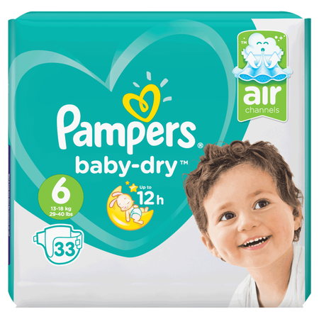 Pampers Baby-Dry Gr. 6 (13-18kg) Value Pack