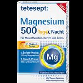 Bild: tetesept: Magnesium 500 Tag Nacht Depot-Tabletten