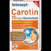 Bild: tetesept: Carotin 15mg + Hautschutz Tabletten