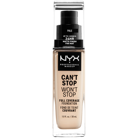 NYX Professional Make-up Can't Stop Won't Stop 24-Hour Foundation