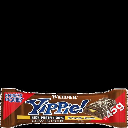 WEIDER Yippie Bar Brownie Vanilla