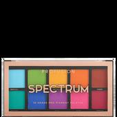 Bild: profusion cosmetics Spectrum 10 Shade Pro Pigment Palette