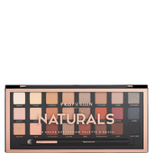 Bild: profusion cosmetics Naturals 24 Shade Eyeshadow Palette & Brush