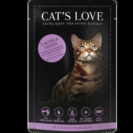 CAT´S LOVE Lachs & Huhn Katzenfutter