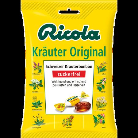 Ricola Kräuter Original Schweizer Kräuter-Bonbons