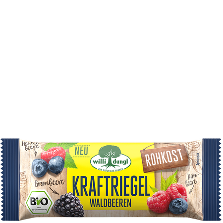Willi Dungl Kraftriegel Waldbeeren
