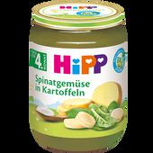 Bild: HiPP Spinatgemüse mit Kartoffeln