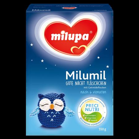 Milupa Milumil Gute Nacht Fläschchen